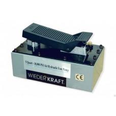 WDK-85103 Пневмогидравлический насос, педаль управления WiederKraft